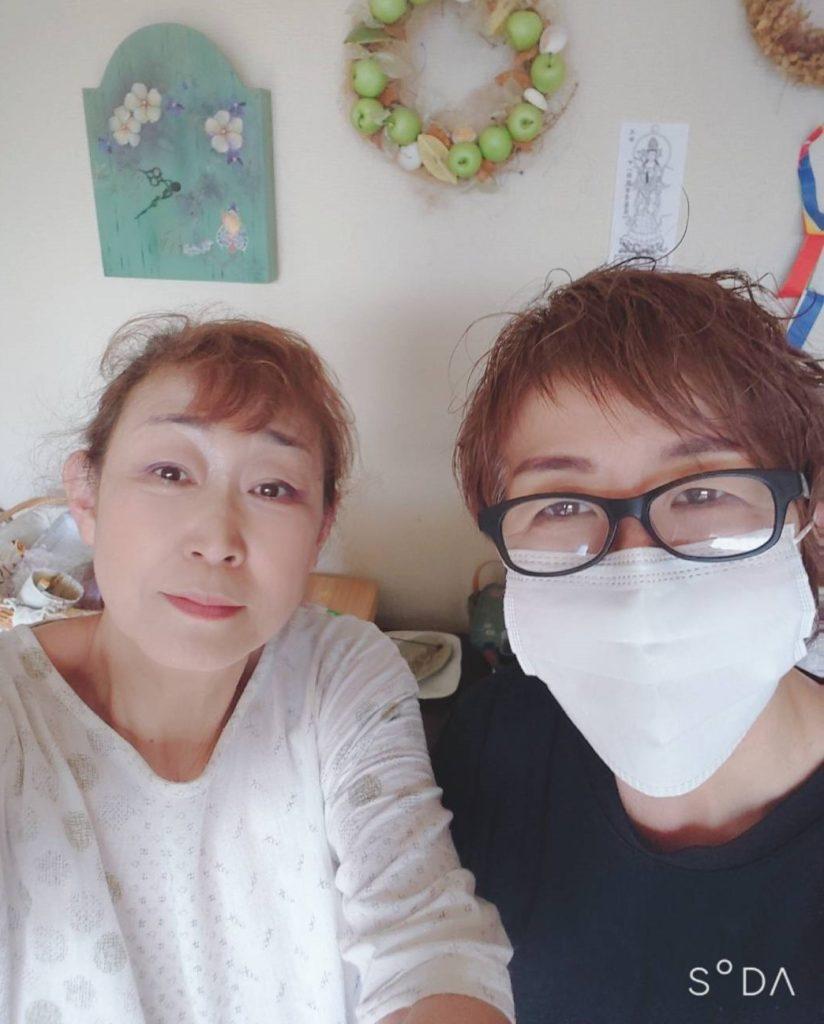 お客様  八賀 ゆみ 様 スタッフ 山木 美智子